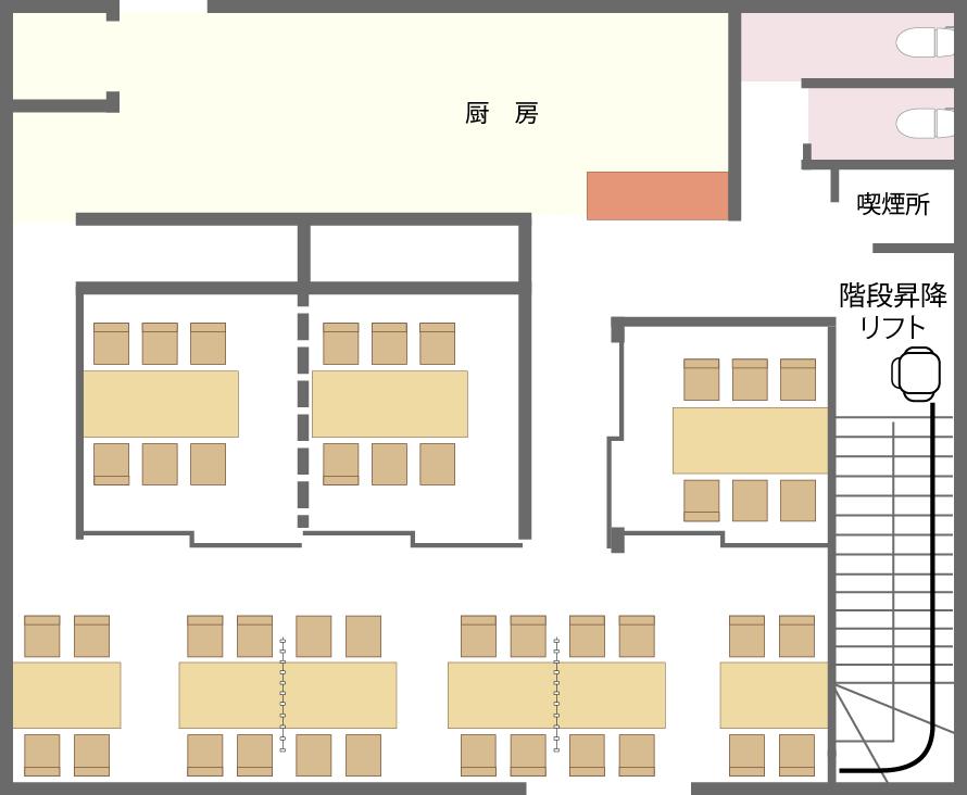 大乃寿司 南林間店 2F