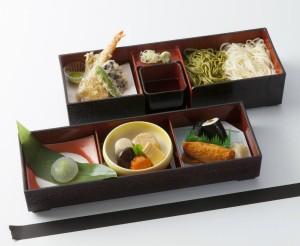 大乃寿司 夏会議弁当 蕎麦